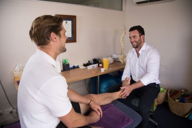 Sam in the Physio